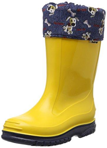Romika Bello, Unisex-Kinder Kurzschaft Gummistiefel, Gelb (zitrone-blau 805), 30 EU