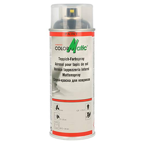 COLORMATIC 369063 Teppich-Farbspray 400 ml, Anthrazit