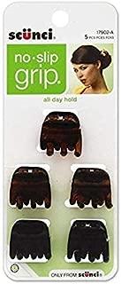 Scunci No-Slip Grip Mini Jaw Clips 5 ea