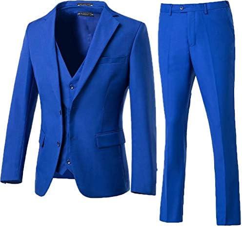 Royal blue mens suit _image0