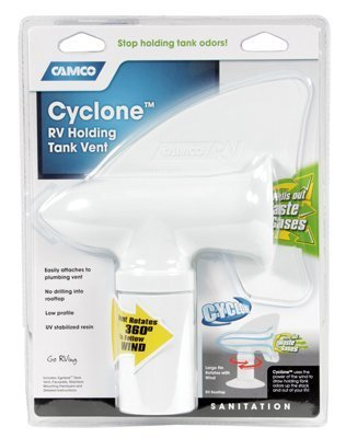 Camco Cyclone Plumbing Vent Rv Pulls Out Waste Gases by Camco