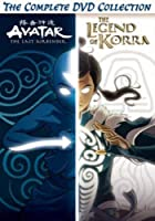 Avatar And Legend Of Korra Complete Series Collection [DVD]
