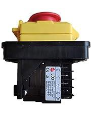 KEDU KJD11 10-polige elektromagnetische schakelaar nood-uit-drukknopschakelaar voor industriële gereedschapsmachine-apparatuur JD3 relais AC 400V 16A 12A 8A 5NO