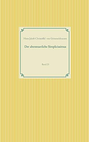 Der abenteuerliche Simplicissimus: Band 23