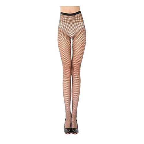 TONSEE 【Fischnetz Socken】 Overknee Strümpfe Damen Frauen Elastische Spitze Oberschenkel Strumpf Strumpfhosen (B)