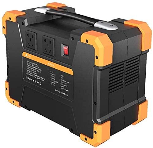LITINGT Generador portátil Central eléctrica portátil Generador portátil 1028WH 1461WH Central eléctrica Fuente de alimentación de Emergencia con inversor DC/AC, Cargado por Panel Solar/Coche /