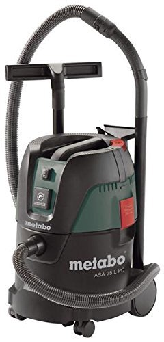 Metabo ASA 25 L PC 25L 1250W Nero, Verde