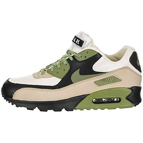 Nike Herren AIR MAX 90 NRG Laufschuh, Light Cream Alligator Pale Ivory Black, 43 EU