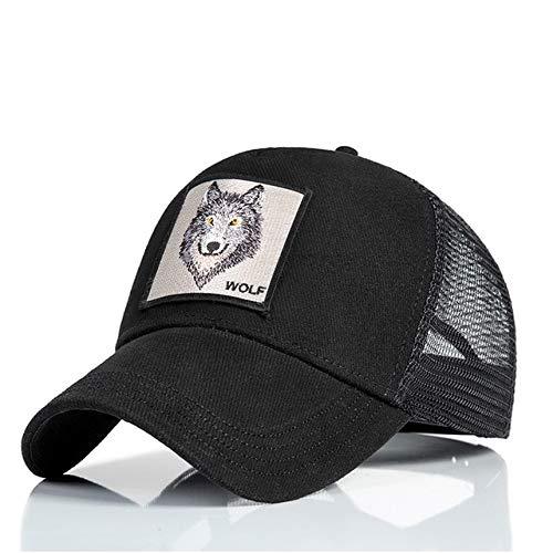 IMmps Mode Mesh Baseball Cap Unisex niedlichen Tier Hut Damen Herren Hut Papa Hut Sommer einstellbar - 49