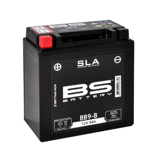 Batería para moto BS SLA BIX30L (YIX30L-BS) AGM – Sin mantenimiento – 12 V 30 Ah – Dimensiones: 165 x 125 x 175 mm compatible con BSV R 100 T 100 1978 – 1981