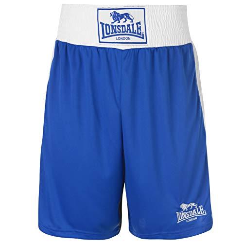Lonsdale para Hombre Caja Corto Pantalones de boxeo de entrenamiento Sport Gimnasio...