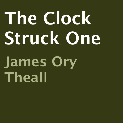The Clock Struck One audiobook cover art