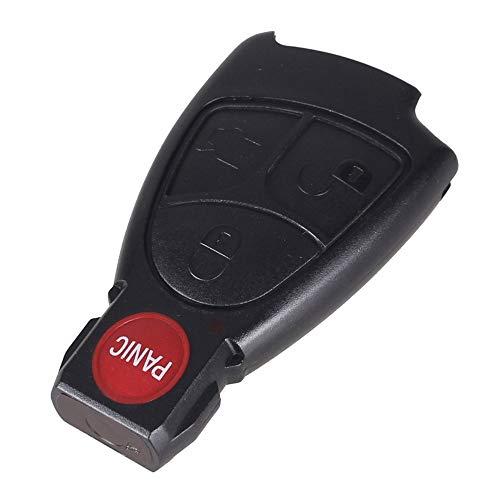 MIOAHD 3 Tasten Fernbedienung Schlüsselanhänger Gehäuseabdeckung, passend für Mercedes Benz BCE ML S CLK CL 3B 3BT