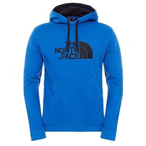 The North Face Drew Peak Pull à Capuche pour Homme Seasonal M Bleu - Monster Blue