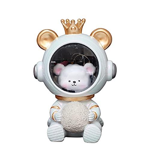 #N/D Luce Notturna Galassia Guardiano Astronauta Piccola Luce Notturna Ragazza Comodino Decorazione Regalo Per Bambini Regalo Giorno Del