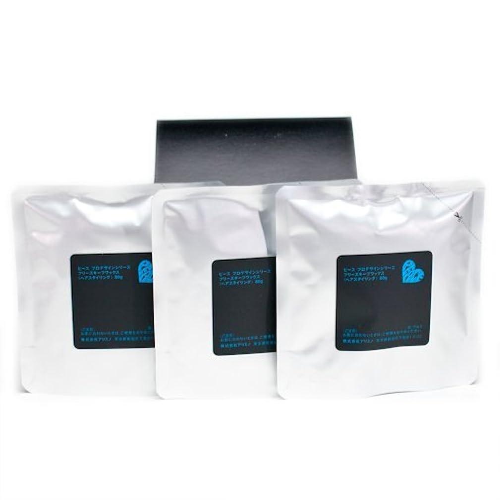 スリッパスリム古風なアリミノ ピース フリーズキープワックス (ブラック)80g(業務?詰替用)×3個入り