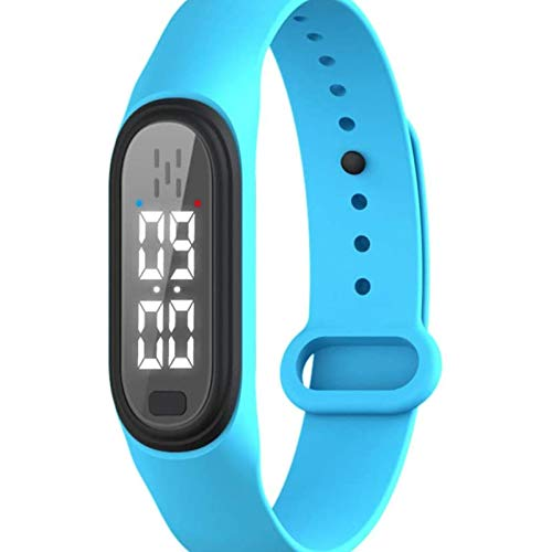 YIHOME Ultrasonic Mosquito Repellent Bracelets, Safety Electronic Anti-Mosquito Wristband Watch with USB Charging, Waterproof Smart Insect Watch for Children, Adults