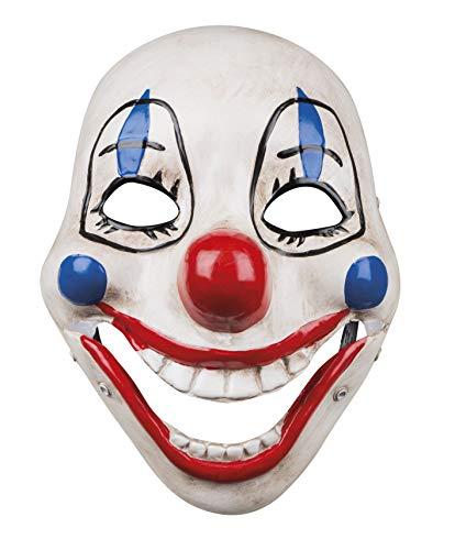 Boland BOL72211 Maschera in Plastica da Clown Terrificante