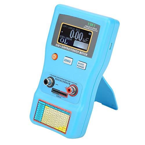 Medidor de condensador ESR Medidor Avanzado Inductancia LCD Digital para Industria Electricista
