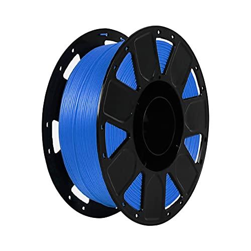 LI Q P R Precision PLA 3D filamento de impresora 1.75mm Dureza Consumibles Material con carrete (azul)