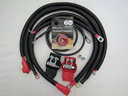 Battery cables for 1998-2006 Jeep Wrangler TJ...