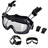 Best Airsoft Goggles - AIRSOFTPEAK Airsoft Tactical Goggles Military Safety Goggles UV Review