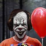 Halloween Clown Mask Costume Prop, Scary Mask Joker Cosplay Decorations, Clown Joker Stephen Mask Halloween Party Decoration Prop