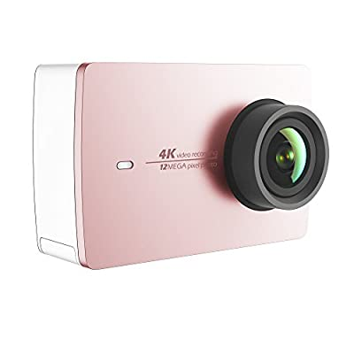 YI 4K Action Camera (US Edition) Rose Gold by YI