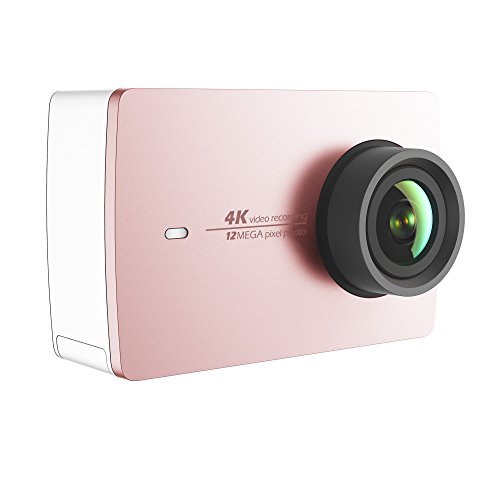 YI 90005 4K Action Kamera rosa-Gold