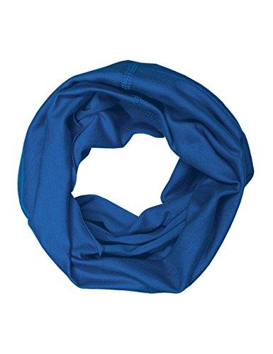 maximo Jungen Halstuch Multifunktionstuch, Einfarbig, Gr. 2, Blau (enzian 50)