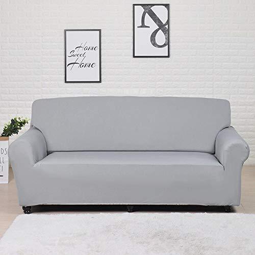 Fundas Lisas de patrón sólido Funda de sofá Fundas de sofá elásticas para Sala de Estar Funda de sofá Toalla de sofá Silla Funda de sofá A16 3 plazas