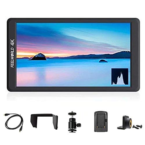Feelworld F570 5.7' IPS Full HD 1920x1080 On Camera Monitor Support 4K HDMI Input/Output for Cameras and Gimbal Stabilizer