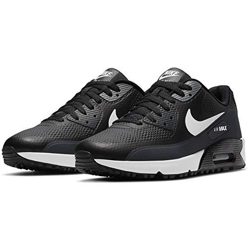 Nike Air MAX 90 G Black/White-Anthracite Zapatillas para Hombre (Numeric_42_Point_5)