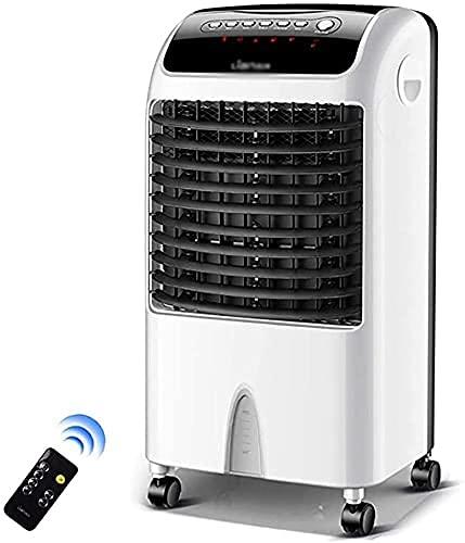 Climatización Enfriadores evaporativos El refrigerador de aire de 10,000 BTU, aire acondicionado portátil, aire acondicionado de tres en uno, con control remoto y pantalla LED, 3 velocidades de ventil