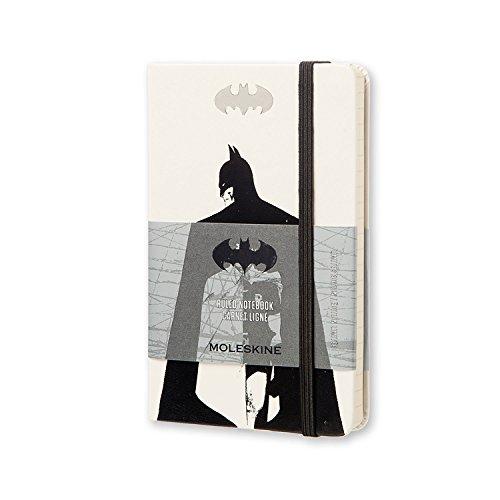Moleskine Taccuino Batman Edizione Robin, Pocket, Bianco