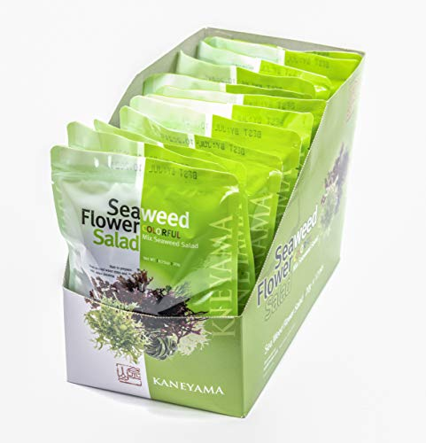 Seaweed Flower Salad (Seaweed Flower Salad 20g, 12 Packs, One Box)