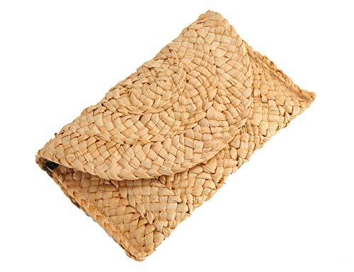 Perfect For Any Occasion Like Dinner,Church,Summer Night, Beach, Wedding, Even For Every Day Use:this Straw Bag With Natural Closure, Natural Weave,Magnetized,Beautiful Lining,Light Weight,Nice Bright Colors Look a Vibrant, and Just the Right Size to...