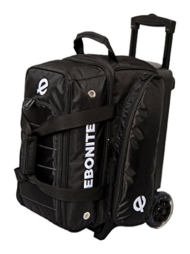 Ebonite Eclipse Double Roller Bowlingtasche schwarz