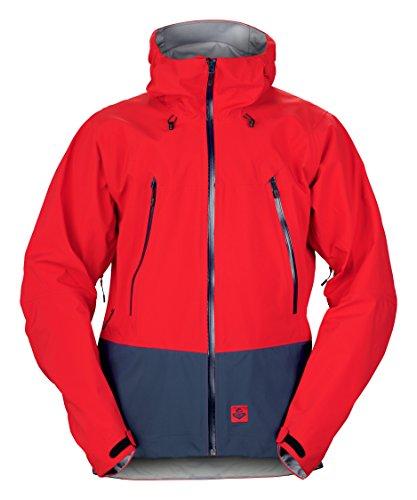 Sweet Protection Salvation Gore-TEX Jacket M Veste Homme, Rouge/Bleu Nuit, L