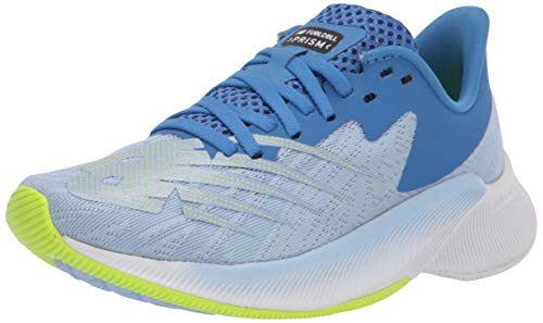 New Balance Women's FuelCell Prism V1 Running Shoe, Blue/Green, 5.5