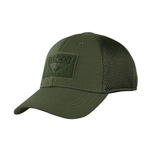 Condor Tactical Mesh Flex Cap - Olive Drab - Small/Medium