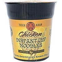 TIGER KHAN Cup Noodle Pollo (copa tallines) Caja completa 12 unidades