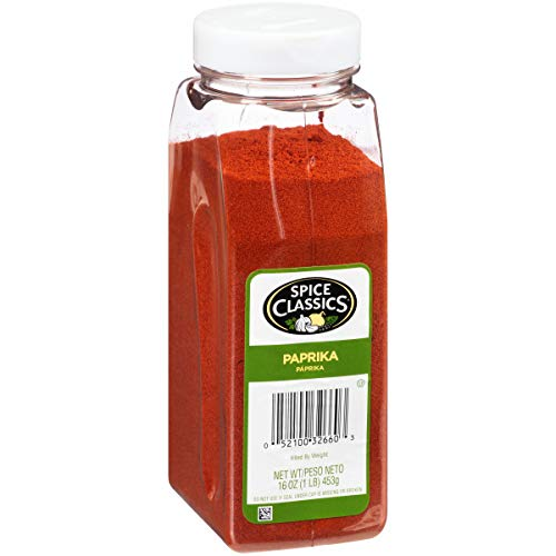 Spice Classics Paprika, 16 oz