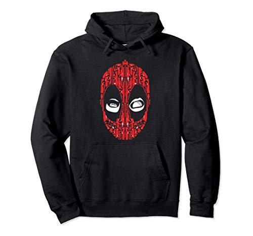 Marvel Deadpool Wade Wilson Taco Eyes Sudadera con Capucha