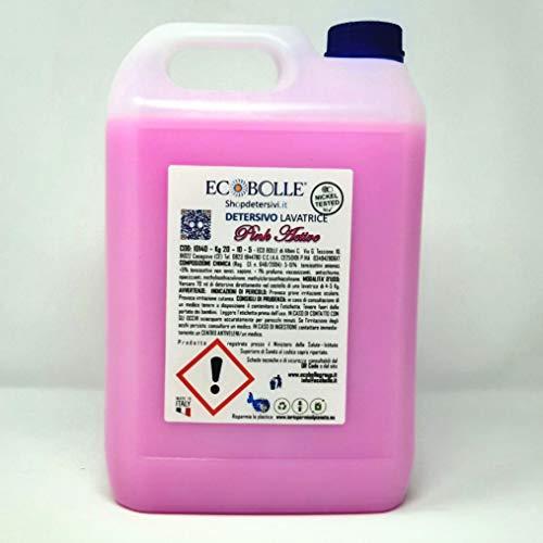 ECOBOLLE Detersivo Pink Active Concentrato Super Profumato (20 kg)