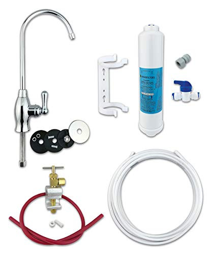 FINERFILTERS Classic FF-6010PF - Kit de filtro de agua potable para debajo del fregadero, incluye grifo y accesorios