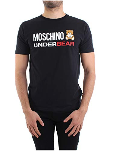 Moschino Uomo T-Shirt 1A1914-8103 Nero