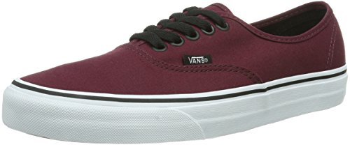 Vans Authentic, Sneaker Unisex – Adulto, Rosso (Port Royale/Black), 43 EU