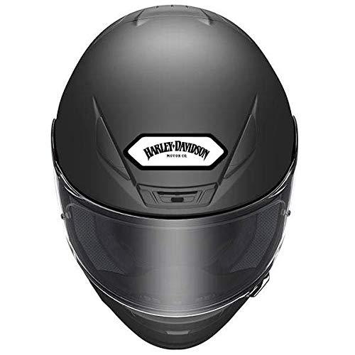 Stickers rétro réfléchissant pour Casque Shoei - Harley Davidson - Frontal