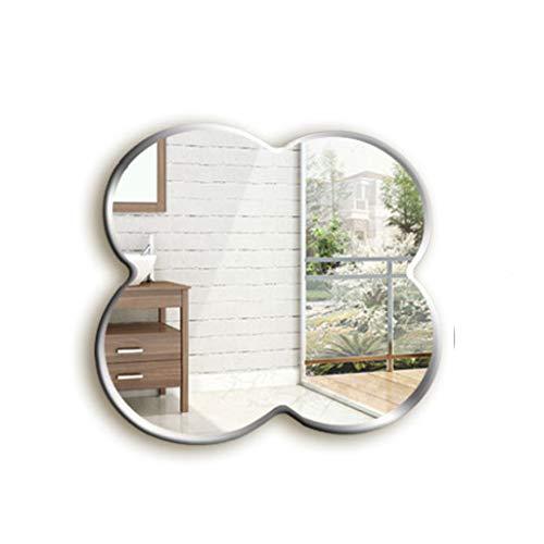 59x59 cm wandbehang spiegel voor binnen slaapkamer frameless high-definition kaptafel make-up spiegel